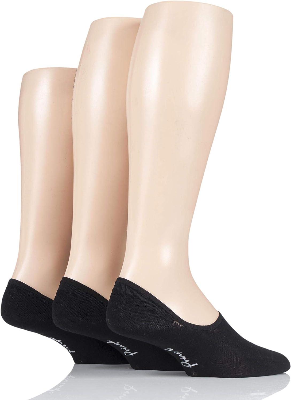 3 Pair Pringle Plain Cotton PED Socks