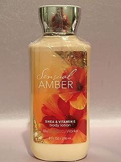 Bath and Body Works Sensual Amber All New 2X Moisture 3X Shea Body Lotion, 236ml