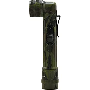Angle Head Torch with Camo Casing and Light Filters