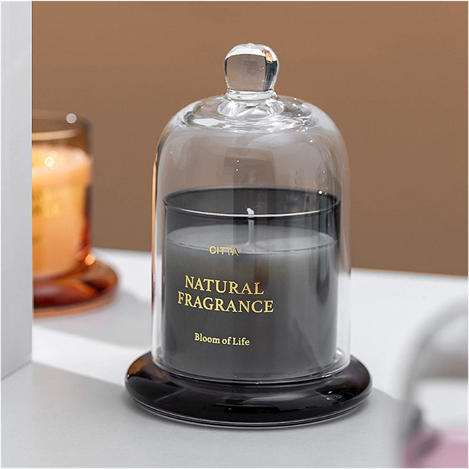 Scented Candles Max Max 74% OFF 42% OFF 1PC High-End Smokeless Candle Glass Aromatherapy