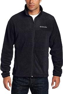Men's Big Tall Granite Mountain Fleece Jacket (3X, Black)