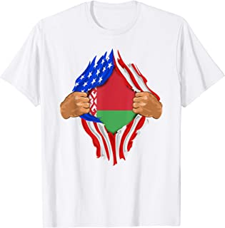 Belarusian Blood Inside Me T-Shirt | Belarus Flag Gift