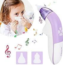 Duevin USB Aspirateur Nasal avec 5 Niveaux de Puissance dAspiration Aspirateur nasal /électrique pour les nouveau-n/és les tout-petits et les enfants de bas /âge