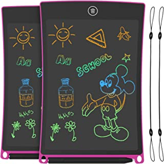 GUYUCOM 8.5-Inch LCD Writing Tablet Colorful Screen Doodle Board Electronic Digital Drawing Pad with Lock Button for Kids ...