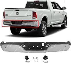 MBI AUTO - Chrome, Steel Rear Bumper Assembly for 2013-2018 RAM 2500 3500 Pickup W/Park 13-18, CH1103129