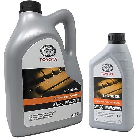 Toyota Original Motoröl Pfe 5w 30 1ww 2ww Packung 6 Liter Dieselmotoren Auto