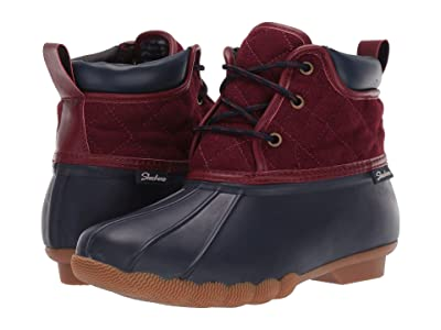 SKECHERS Pond Lil Puddles (Navy/Red) Women