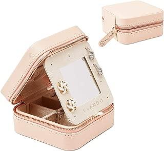 mina mirrored jewelry box