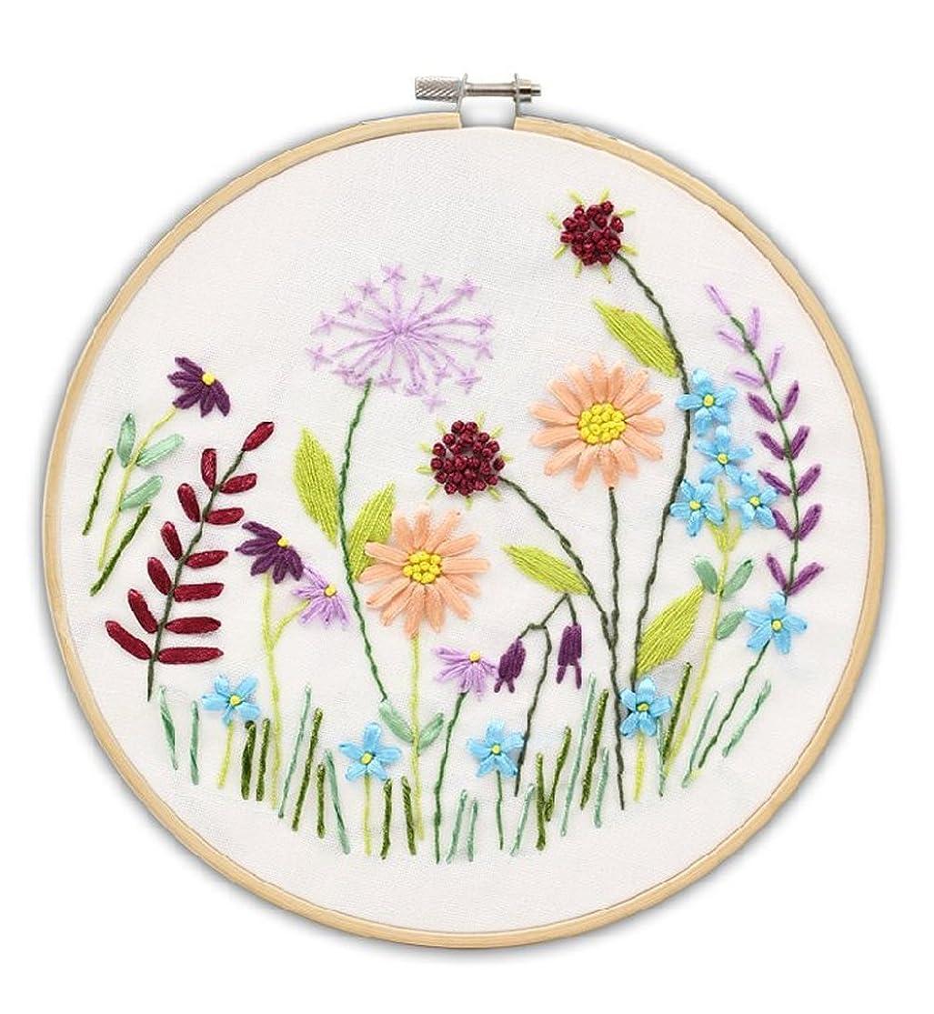 Cross Stitch Stamped Embroidery Kit - Eafior DIY Beginner Counted Starter Cross Stitch Kit for Art Craft Handy Sewing kmvmyrem5