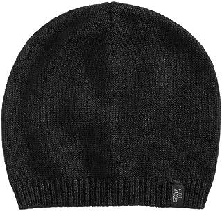 Steve Madden Mens Beanie Cold Weather Skull Cap Black O/S