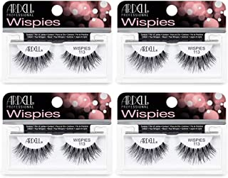 Ardell False Eyelashes Wispies 113 Black (4 Pairs)