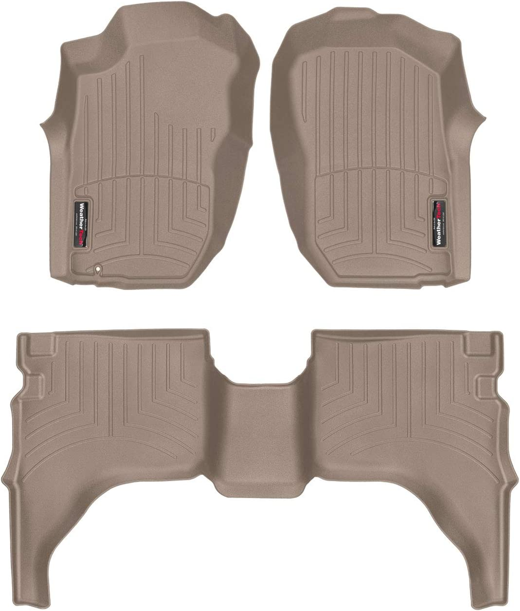 WeatherTech Custom Super intense SALE Special Campaign Fit FloorLiner for 2nd Tacoma 1st Toyota -