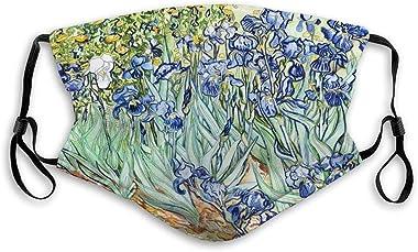 hongwenjy Reusable Nose Clip Cover, Adjustable Outdoor Covers Irises Vincent Van Gogh Irises Vincent Van Gogh Outer Covers