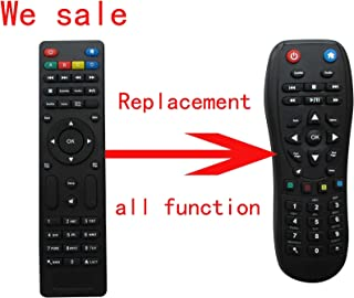 Universal Replacement Remote Control Fit For WD Western Digital WDBHG70000NBK-HESN WDBGXT0000NBK-UESN (C3H) 1080P Wi-fi Recerfified Streaming WDTV HDTV Live HD TV Media Player