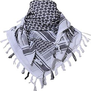 MAGNIVIT Cotton Keffiyeh Tactical Desert Scarf Wrap Shemagh Head Neck Arab Scarf