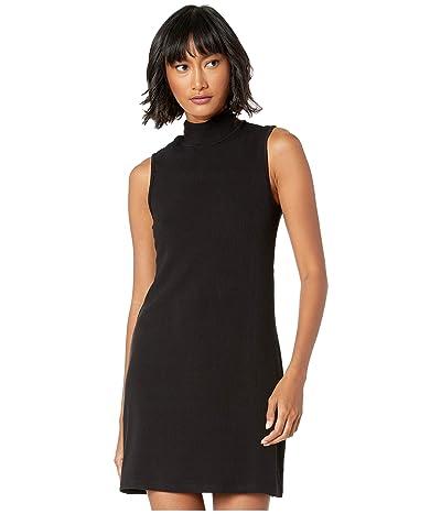 Sanctuary Essential Sleeveless Mock Dress (Black) Women