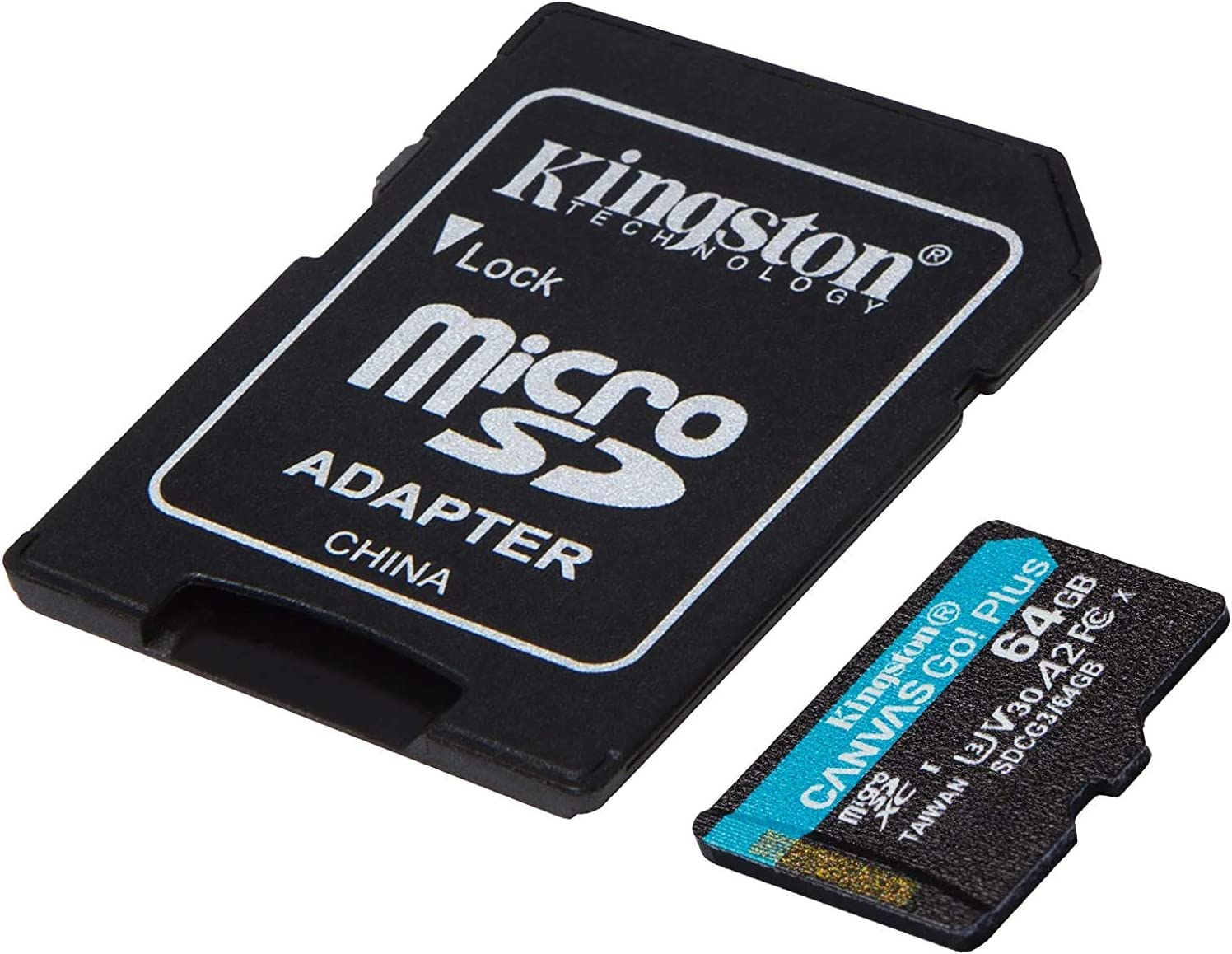 Kingston GO! Plus Works for Acer ICONIA TAB A500 64GB MicroSDXC Canvas Card Verified by SanFlash. (170MBs Works with Kingston)