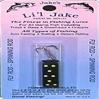 Jake'S Lures Li'L Jake 1/6Oz Gold Red Fishing Equipment