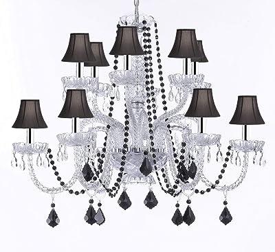Amazon.com: Todas las lámparas de araña de cristal con bolas ...