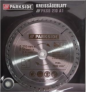 Parkside Sierra circular pksb 210 A1 – 60 dientes