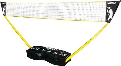 Hammer 3-in-1 netset - mobiel volleybal, badminton en tennisnet