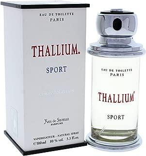 Thallium Sport Limited Edition for Men by Yves De Sistelle 3.3 oz EDT SP