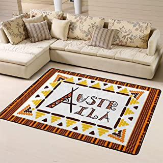 Doormats Area Rug Rugs Aboriginal Australia Travel Traditional Dotted Artfloor Mat for Home Decor 60