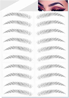 Brows by Bossy Temporary Brow Tattoo | 8 Colors & 6 Styles | Waterproof Eyebrow Stickers, False Tattoos Hai...