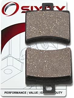 Sixity Rear Ceramic Brake Pads 2003-2004 for Aprilia Atlantic 500 Set Full Kit ie Complete