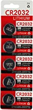 CR2032 Key Fob Remote Battery (5-Pack)