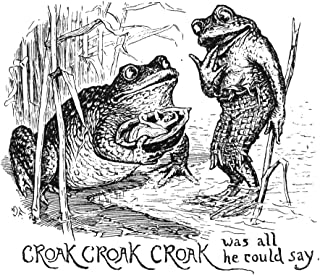 Andersen Thumbelina NCroak Croak Croak Was All He Could Say Drawing By Henry J Ford For The Fairy Tale By Hans Christian A...