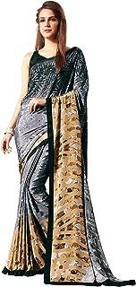 Jaanvi fashion Womens Crepe Silk Printed Saree (celebration-7713-b)