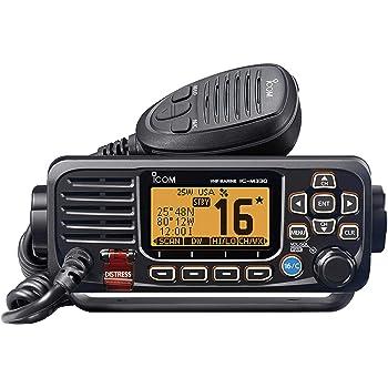 Icom M330-11 VHF Radio Fixed Mount Black