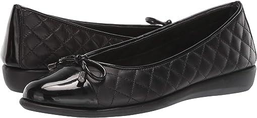 Black/Black Cashmere/Patent