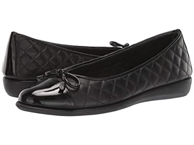 The FLEXX Riseco (Black/Black Cashmere/Patent) Women
