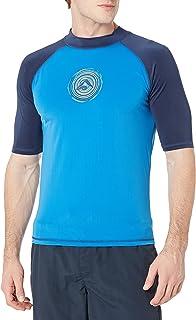 قميص سباحة برادايس للرجال بعامل حماية من اشعة الشمس 50+ وواقي من اشعة الشمس والطفح الجلدي واكمام قصيرة من كانو سيرف