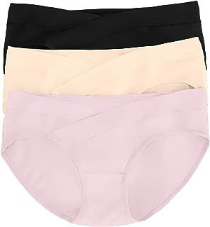 Under The Bump Maternity Underwear/Pregnancy Panties - Bikini 3 Pack