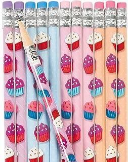 Fun Express Cupcake Pencils for Birthday - Stationery - Pencils - Pencils - Printed - Birthday - 24 Pieces