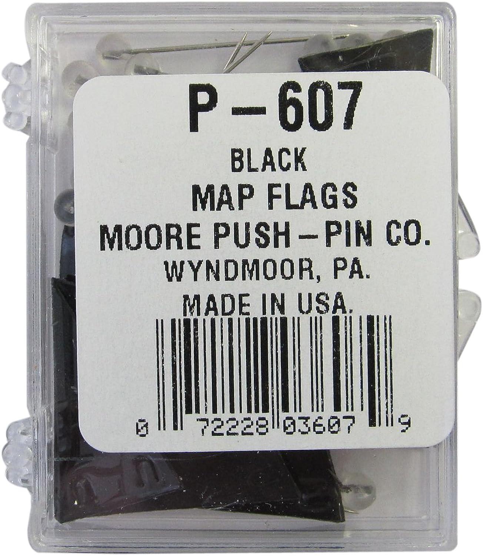 Moore Druckknöpfe ermöglichen schwarz PENNANT PENNANT PENNANT Karte Flaggen (p-607) B0096YOXXQ | Stabile Qualität  c581ce