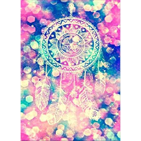 5D Diamond Painting Dreamcatcher Rhinestone Pictures Kit For Wall Hanging