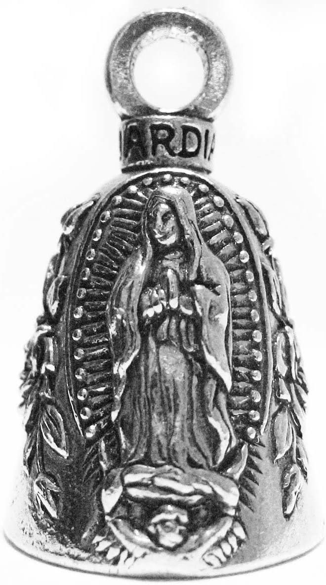 Guardian Virgin Mary Motorcycle Biker Luck Gremlin Riding Bell o