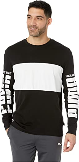 Rebel Up Long Sleeve Raglan Tee