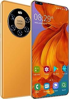 Smartphone SIM Free Phones Unlocked, Mate40 Pro 5G Dual SIM Mobile Phone Android 10.0, 7.3 Inches Waterdrop Full-Screen, 5...