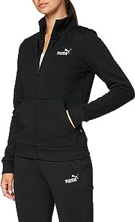 Puma ESS Track Jacket FL Sweat-Shirts Femme, Noir (Cotton Black), FR : L (Taille Fabricant : L)