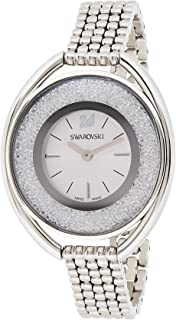Swarovski Womens Quartz Watch, Analog Display and Stainless Steel Strap 5181008