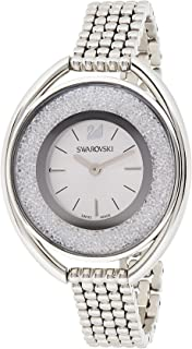 Swarovski Womens Quartz Watch, Analog Display and Stainless Steel Strap 5181008