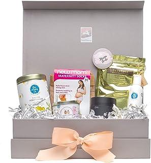 Bump to Bunny Pregnancy Box for Trimester 3 (Peach Ribbon)