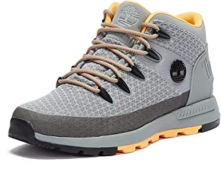 Timberland Sprint Trekker Mid Fabric Bottes Grises pour Hommes