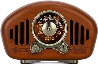 $116 » Maintainhealth AM FM Retro Radio, Stereo Vintage Radio with Bluetooth Speaker, Portable Bluetooth Speaker, Retro Old Fashi...