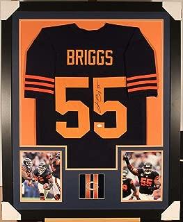 Autographed Lance Briggs Jersey - Framed w COA 3 - JSA Certified - Autographed NFL Jerseys